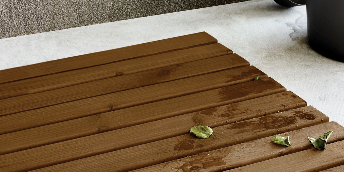 protected wood surfaces