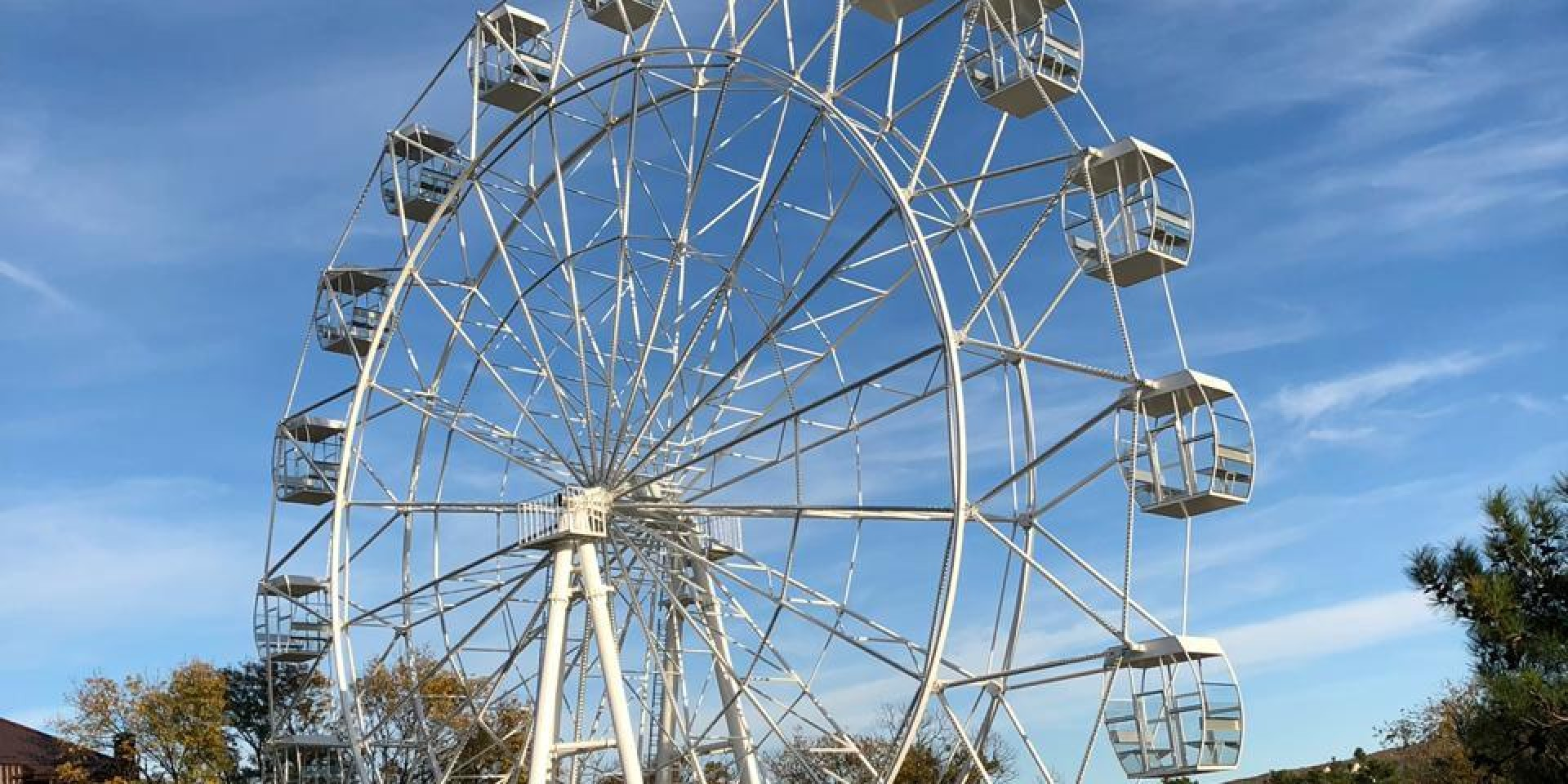Ferris wheel painted with Tikkurila coatings.