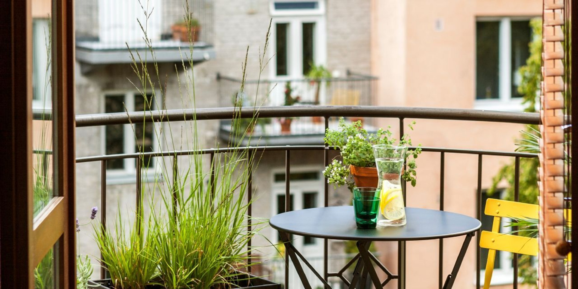 Balcony makeover - creating an urban oasis