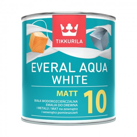 Everal Aqua White Matt [10]